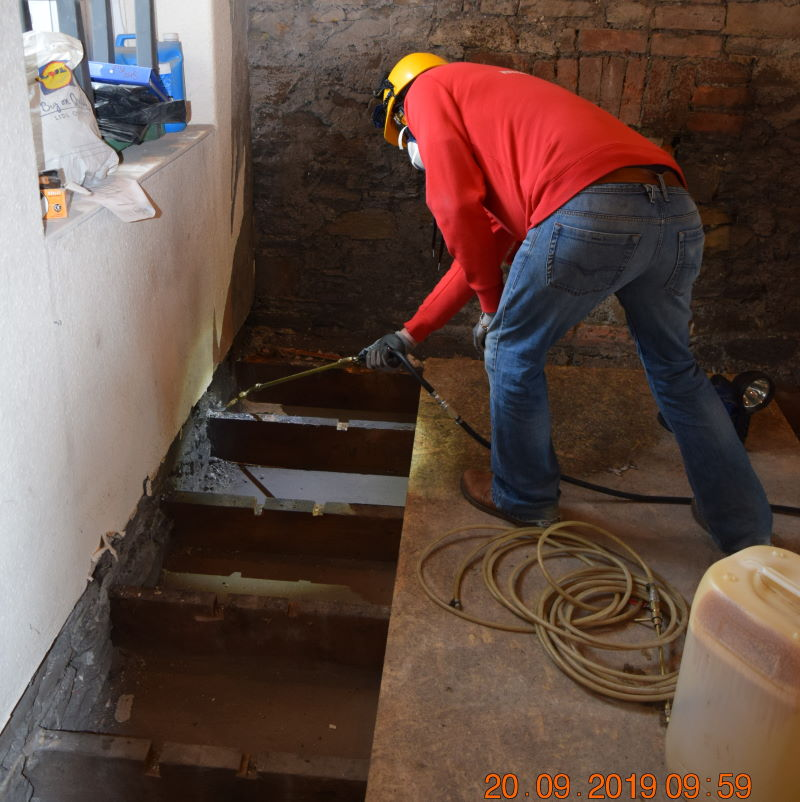 damp proofing swansea south wales